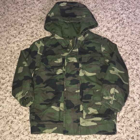 0bf100222 Old Navy Jackets & Coats | Toddler Camo Jacket | Poshmark